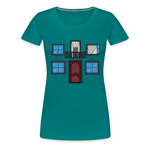 Window of the heart - Camiseta premium mujer