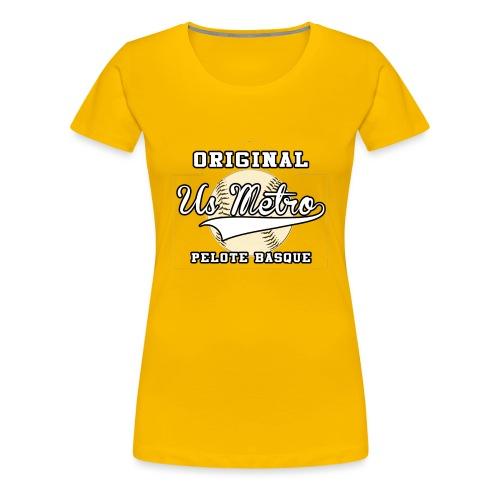 origiinalUSMETRO2 png - T-shirt Premium Femme