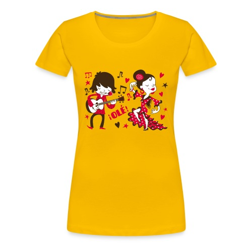 GITANILLOS - Camiseta premium mujer