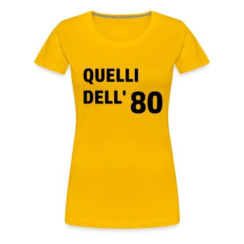 80 - Maglietta Premium da donna