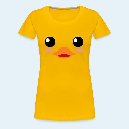 Pato bebé (Cachorros) - Camiseta premium mujer