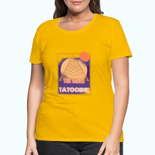 The Maze Tatooine - Women's Premium T-Shirt