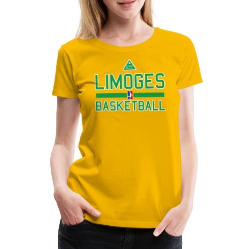 practice_jaune - T-shirt Premium Femme