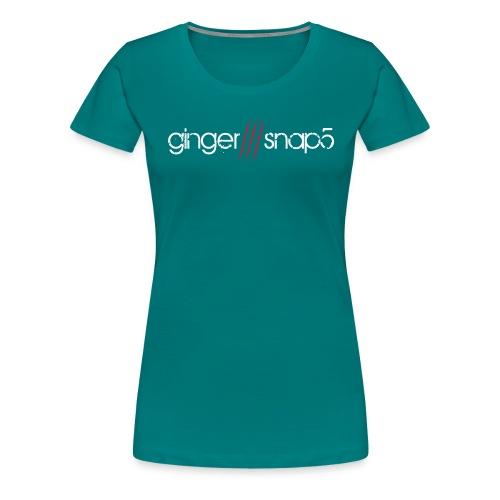 GS5 logo name - Women's Premium T-Shirt