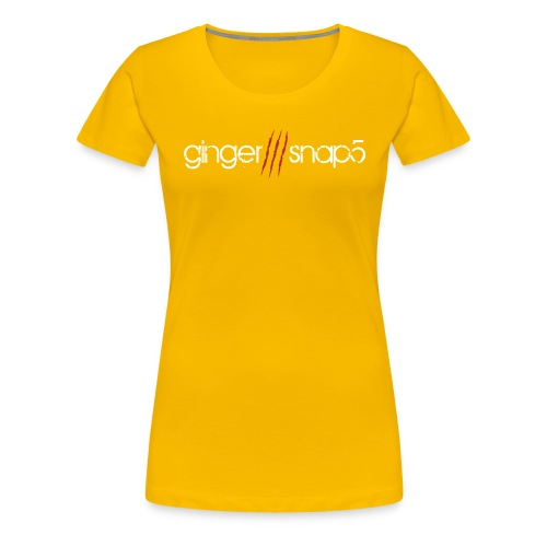 GS5 logo name - Women's Premium T-Shirt