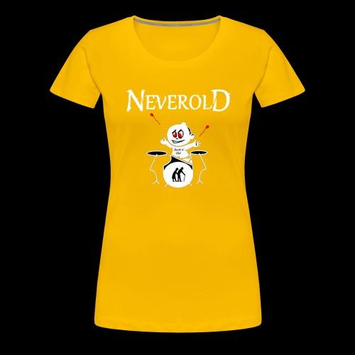 LOGO NEVEROLD - T-shirt Premium Femme