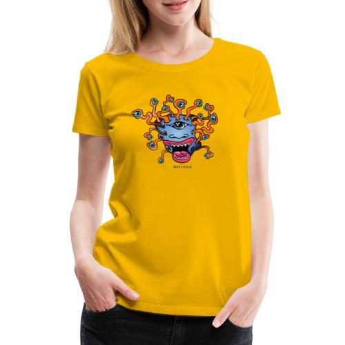 Mystified Eyeball Monster - Vrouwen Premium T-shirt
