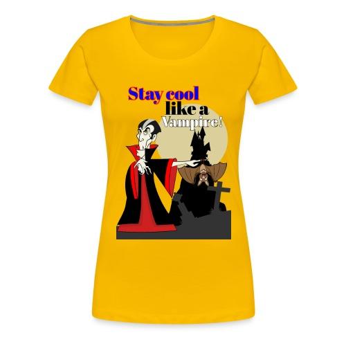Vampir, Dracula, - Frauen Premium T-Shirt
