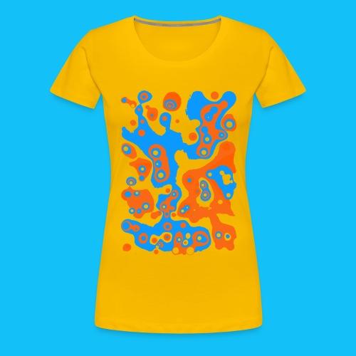 Fruchtsaft Blaubeer-Orange-Mix - Frauen Premium T-Shirt