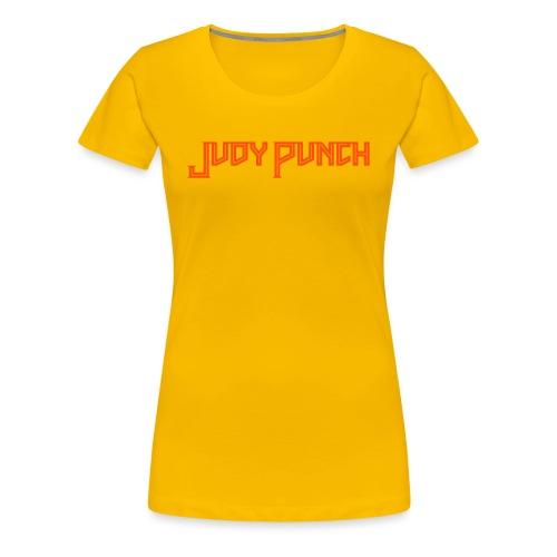 Judy Punch text - Women's Premium T-Shirt