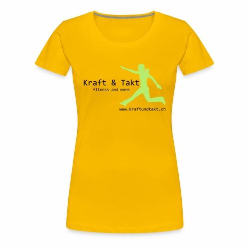 Kraft und Takt - Frauen Premium T-Shirt