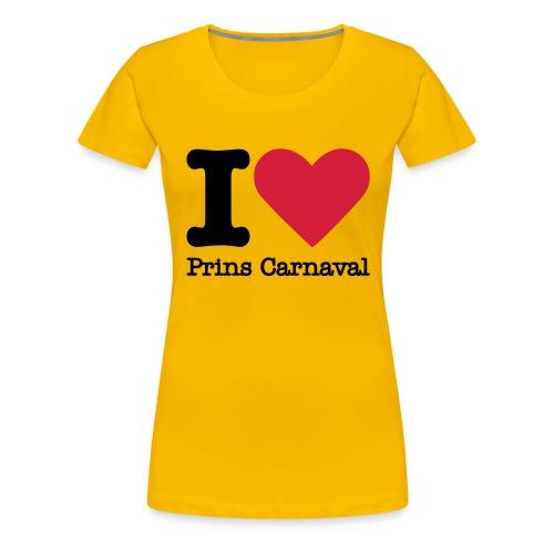 I Love Prins Carnaval - Vrouwen Premium T-shirt