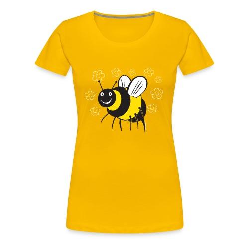 MEHILÄINEN BEE, Textiles and Gifts 10-1E - Naisten premium t-paita
