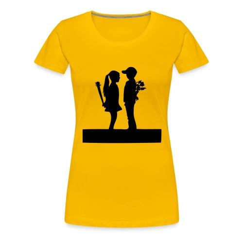 strauss - Frauen Premium T-Shirt