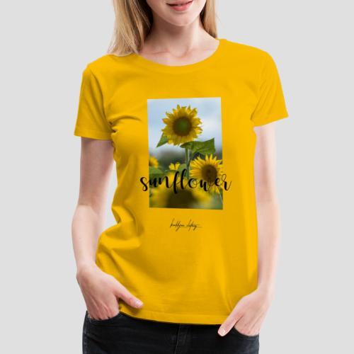 Sunflower - Frauen Premium T-Shirt