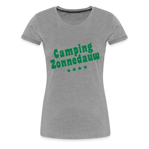 Camping Zonnedauw - Vrouwen Premium T-shirt