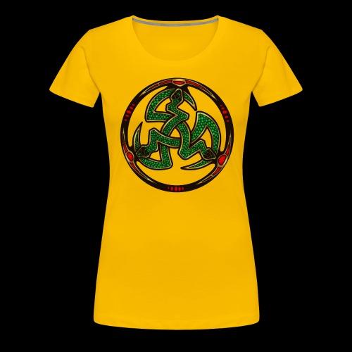 Serpent Triskellion - Women's Premium T-Shirt