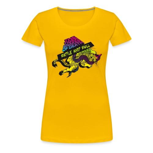 Rattle and Roll - Frauen Premium T-Shirt
