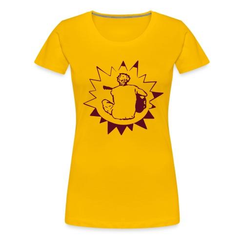 William White back with star logo - Women's Premium T-Shirt