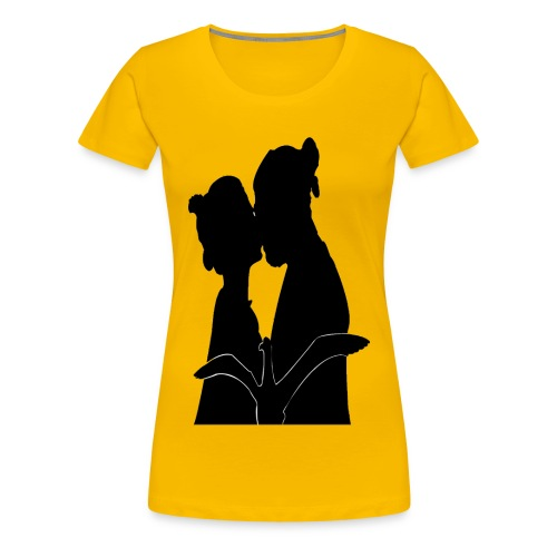 real love kissing - T-shirt Premium Femme