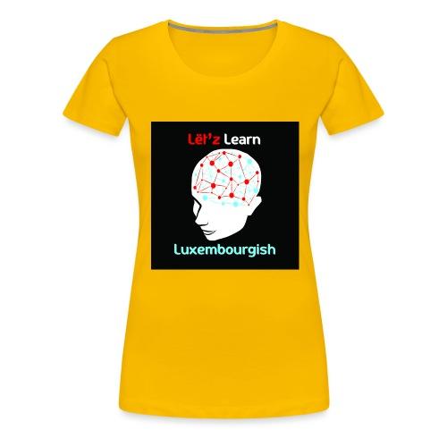 letzlearnlux(print) - Frauen Premium T-Shirt