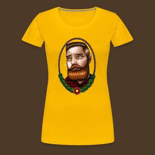 BeardMan - T-shirt Premium Femme