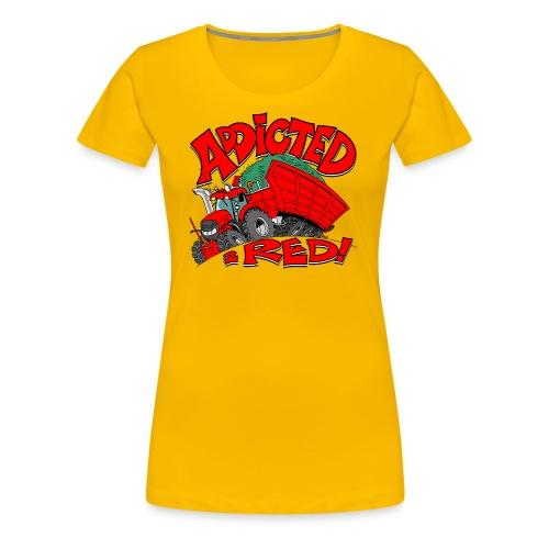 Addicted2RED - Vrouwen Premium T-shirt