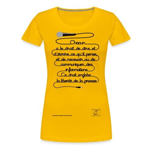 png franais11 - T-shirt Premium Femme