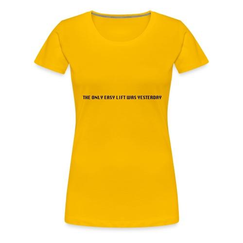 170106 LMY t shirt hinten png - Frauen Premium T-Shirt