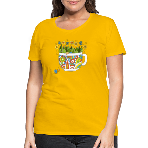 Herr und Frau Schnecke - Frauen Premium T-Shirt
