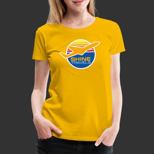 Shine Travels - Premium-T-shirt dam