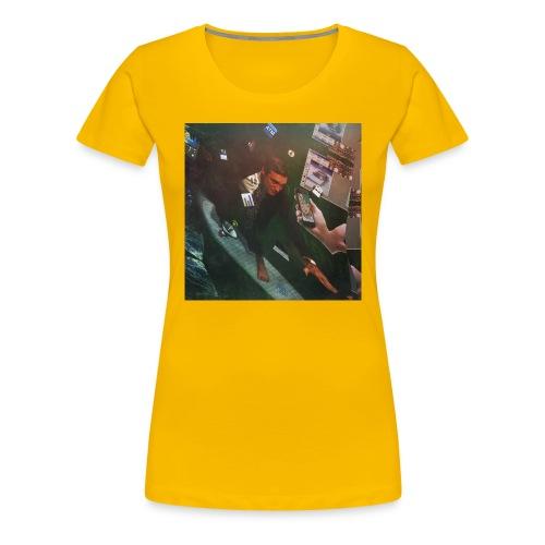 Surfing The Internet - Frauen Premium T-Shirt