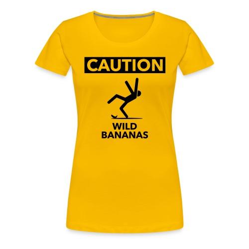 Wild Bananas - Vrouwen Premium T-shirt
