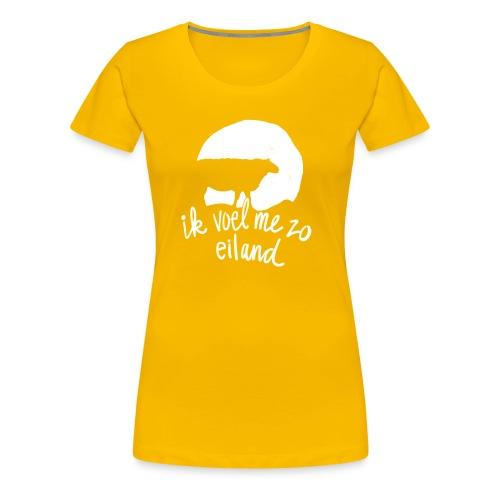 Ik voel me zo eiland - Vrouwen Premium T-shirt