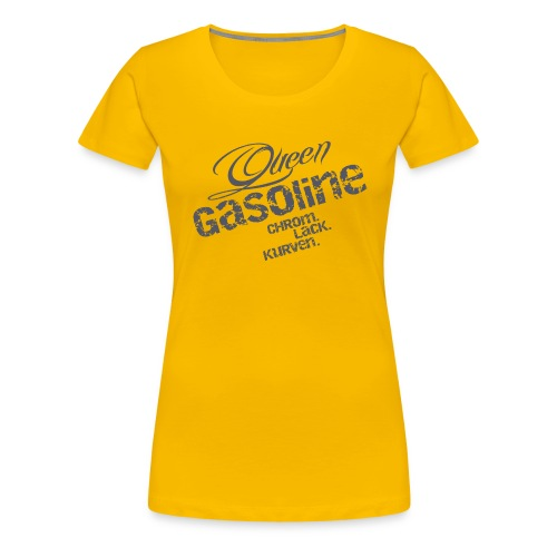 Queen Gasoline Logo - Frauen Premium T-Shirt