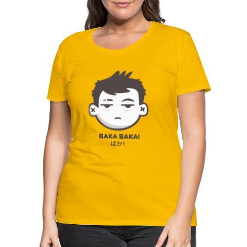 LOGO BAKA BAKA - Camiseta premium mujer