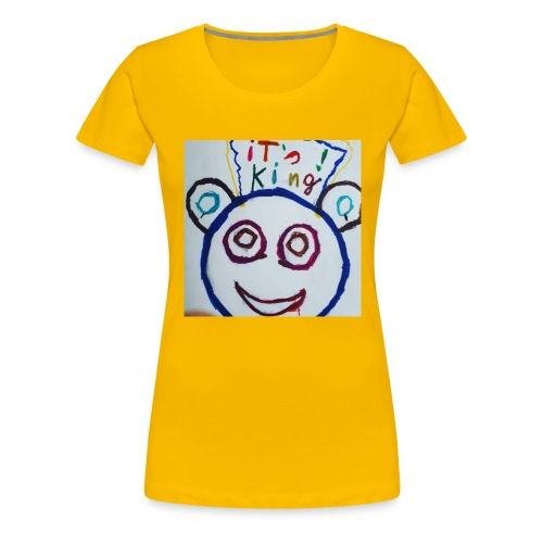de panda beer - Vrouwen Premium T-shirt