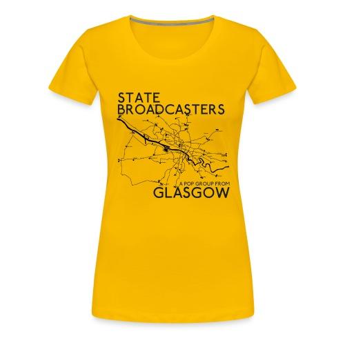Pop Group From Glasgow - Women's Premium T-Shirt