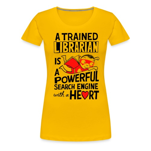 sarah mcintyre tshirt1 png - Women's Premium T-Shirt