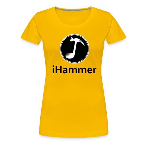 iHammer png - Maglietta Premium da donna