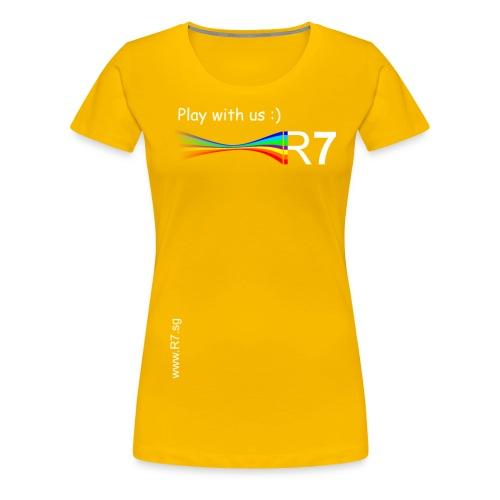 R7 TShirt2W png - Frauen Premium T-Shirt