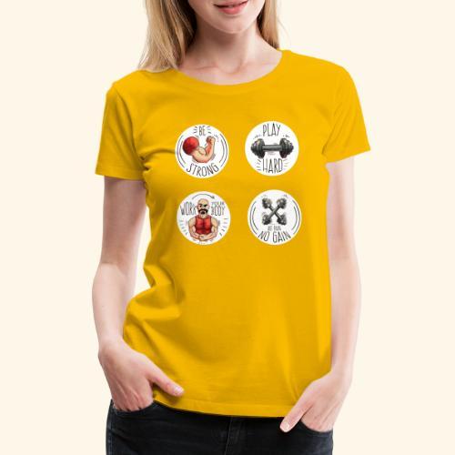 No pain no gain - Camiseta premium mujer