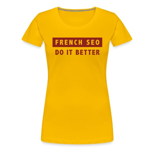 french-seo-red - T-shirt Premium Femme