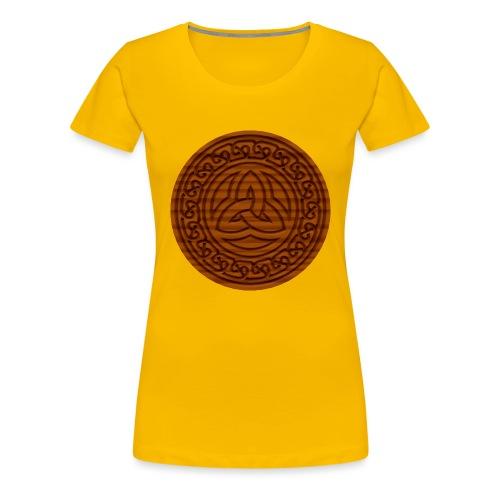 Triquetra Celtic Knot - Women's Premium T-Shirt