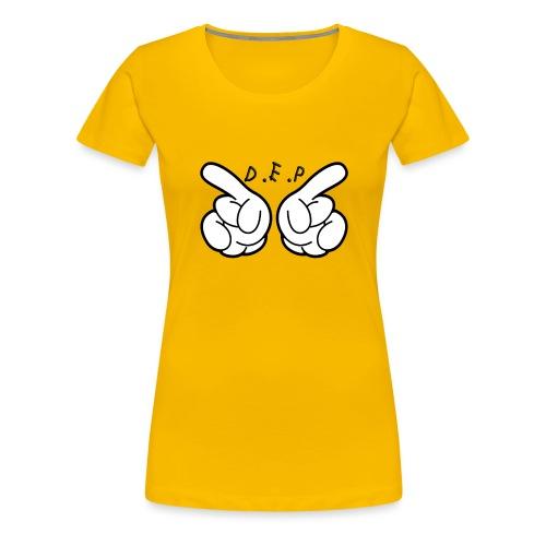 D.E.P HAND - Women's Premium T-Shirt