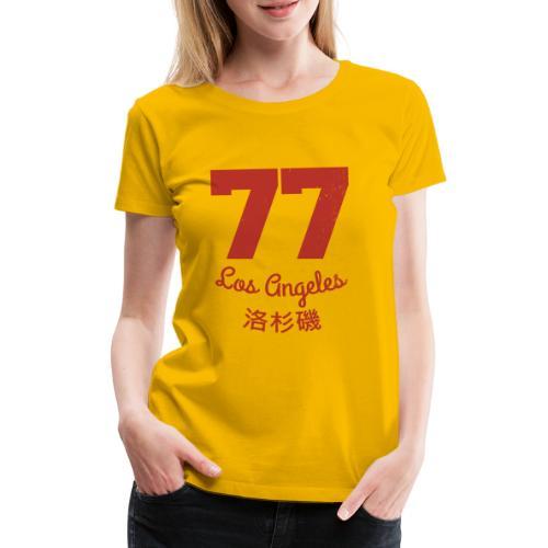 77 los angeles - Frauen Premium T-Shirt