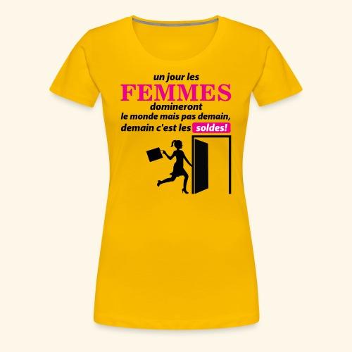 Un jour les femmes.. - T-shirt Premium Femme
