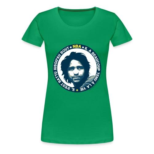 nba tshirt 2012 - T-shirt Premium Femme
