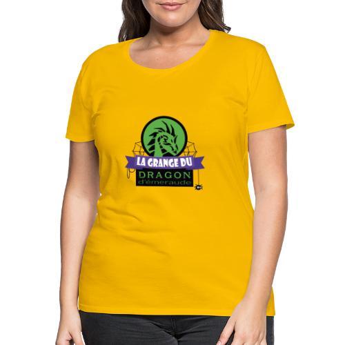 La grange du Dragon d'émeraude - T-shirt Premium Femme