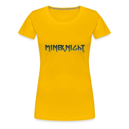MineKnight mugg - Premium-T-shirt dam